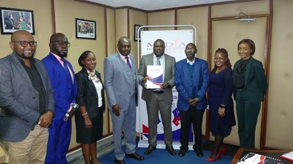 KAMP CEO COURTESY VISIT TO MEDIA COUNCIL OF KENYA